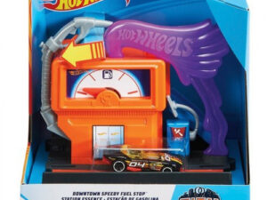 Pista Hot Wheels Gasolinera Servicio Rápido