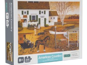 Puzzle X500 Pz American Country Ditoys
